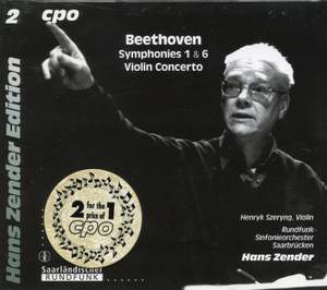 Beethoven: Symphonies 1 & 6 and Violin Concerto
