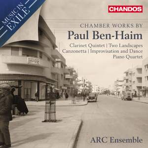 Music in Exile Vol. 1: Chamber Music by Paul Ben-Haim Product Image