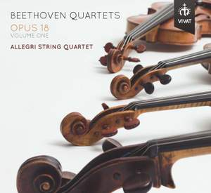 Beethoven: Quartets Opus 18, Volume 1 Product Image