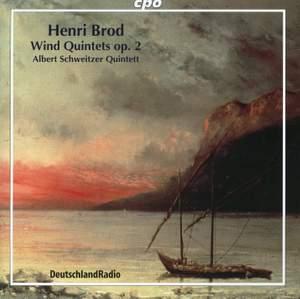 Brod: Wind Quintets, Op. 2