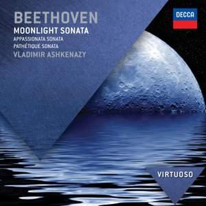 Beethoven: Moonlight, Pathetique and Appassionata Sonatas Product Image