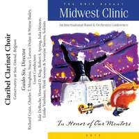 2012 Midwest Clinic: Claribel Clarinet Choir
