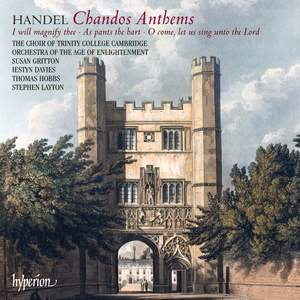 Handel: Chandos Anthems Nos 5a, 6a & 8
