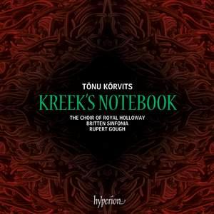 Tõnu Kõrvits: Kreek's Notebook