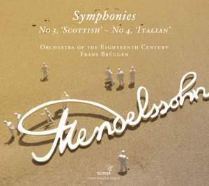Mendelssohn: Symphonies Nos. 3 'Scottish' & 4 'Italian' Product Image