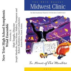 2012 Midwest Clinic: New Trier High School Symphonic Wind Ensemble