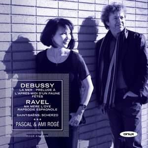 Pascal & Ami Rogé play Debussy & Ravel