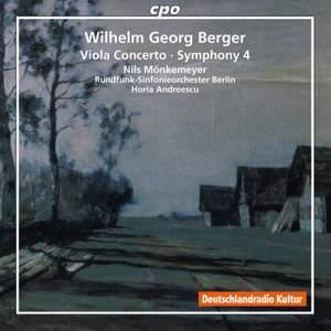 Wilhelm Georg Berger: Viola Concerto