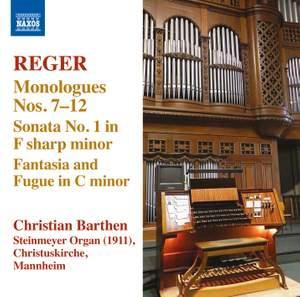 Reger - Organ Works Volume 13