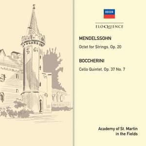 Mendelssohn: Octet & Boccherini: Quintet, Op. 37 No. 7 Product Image