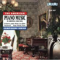 Piano Music in America