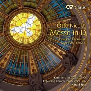 Nicolai: Mass in D