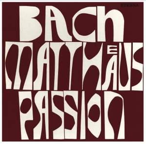 JS Bach: St Matthew Passion - Vinyl Edition