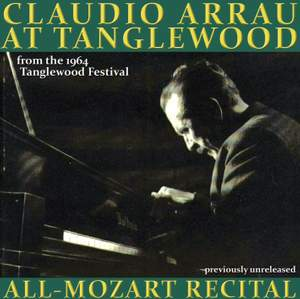 Claudio Arrau live from the Tanglewood Festival