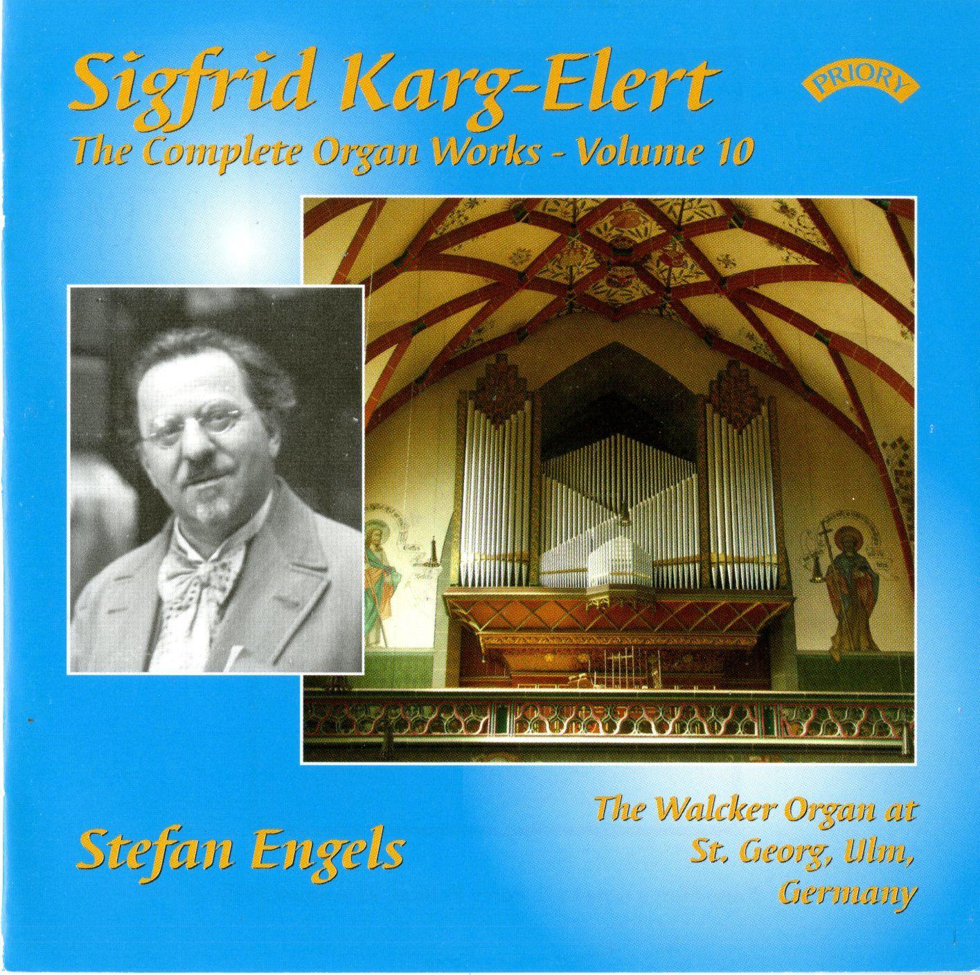 Karg-Elert Complete Organ Works Vol. 10