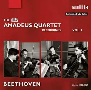 The RIAS Amadeus Quartet Recordings Vol. 1: Beethoven