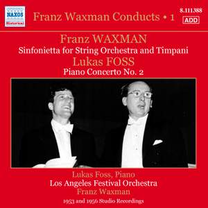 Franz Waxman Conducts, Vol. 1