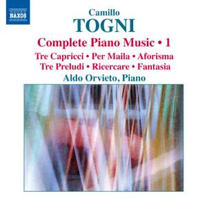 Togni: Complete Piano Music Volume 1