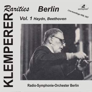 Klemperer Rarities: Berlin, Vol. 1