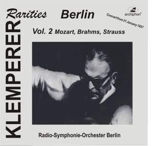 Klemperer Rarities: Berlin, Vol. 2