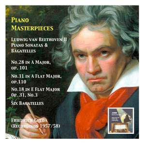 Piano Masterpieces: Friedrich Gulda, Vol. 3 (Recordings 1957/58) Product Image