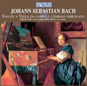 JS Bach: Sonate a Viola da Gamba e Cembalo Obbligato Product Image