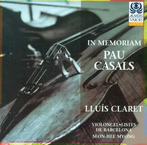 In memoriam Pau Casals