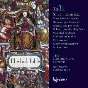 Tallis: Salve intemerata & other sacred music Product Image