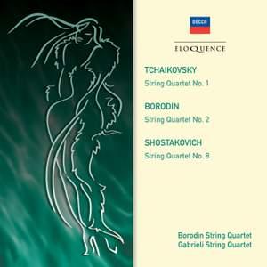 Borodin, Shostakovich & Tchaikovsky: String Quartets