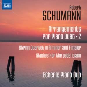 Schumann: Arrangements for Piano Duet, Vol. 2