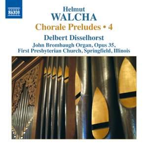Walcha: Chorale Preludes, Volume 4 Product Image