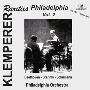 Klemperer Rarities: Philadelphia, Vol. 2