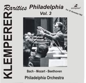 Klemperer Rarities: Philadelphia, Vol. 3