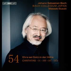 Bach - Cantatas Volume 54