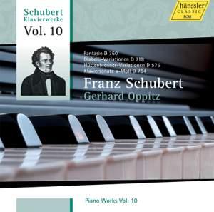 Schubert - Piano Works Volume 10
