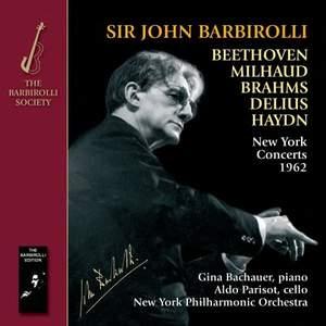 Sir John Barbirolli: New York Concerts 1962 Product Image