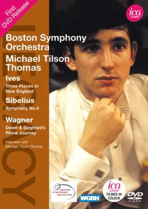 Michael Tilson Thomas conducts Ives, Sibelius & Wagner Product Image