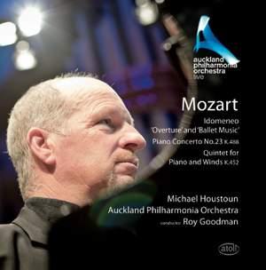 Mozart: Idomeneo Excerpts, Piano Concerto No. 23 and Piano & Wind Quintet