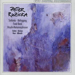 Ruzicka: Sinfonia, Befragung, Feed Back & Haydn-Metamorphosen