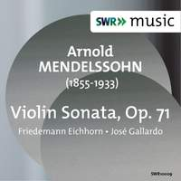 Mendelssohn, A: Violin Sonata in C major, Op. 71