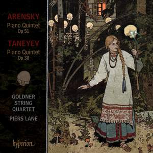 Arensky & Taneyev: Piano Quintets Product Image
