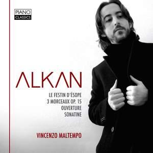 Alkan: Le Festin d'Esope & Trois Morceaux