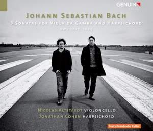 Bach, J S: Viola da Gamba Sonatas Nos. 1-3, BWV1027-1029