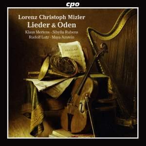 Mizler: Lieder & Oden (20)