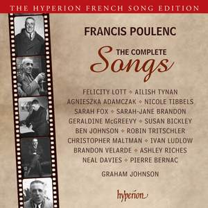 Poulenc: The Complete Songs Product Image