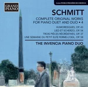 Florent Schmitt: Complete Original Works for Piano Duet and Duo 4