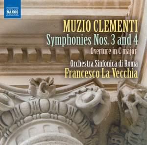 Clementi: Symphonies Nos. 3 & 4 Product Image