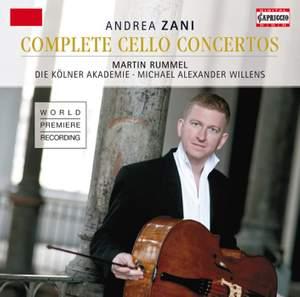 Zani: Cello Concertos Nos. 1-12