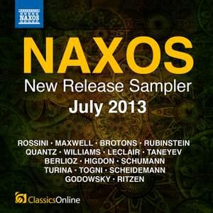 Naxos July 2013 New Release Sampler