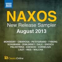 Naxos August 2013 New Release Sampler